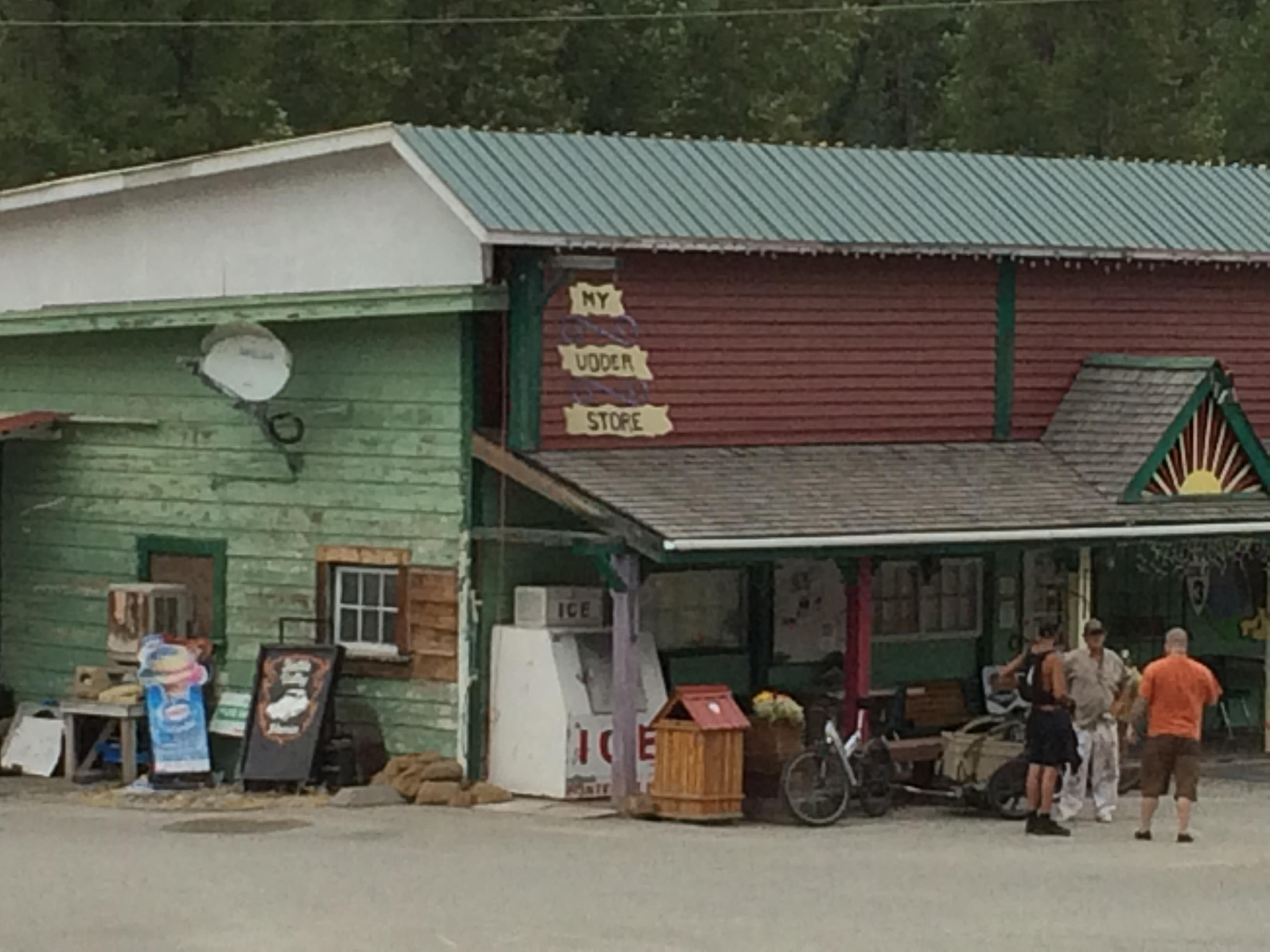 The udder store