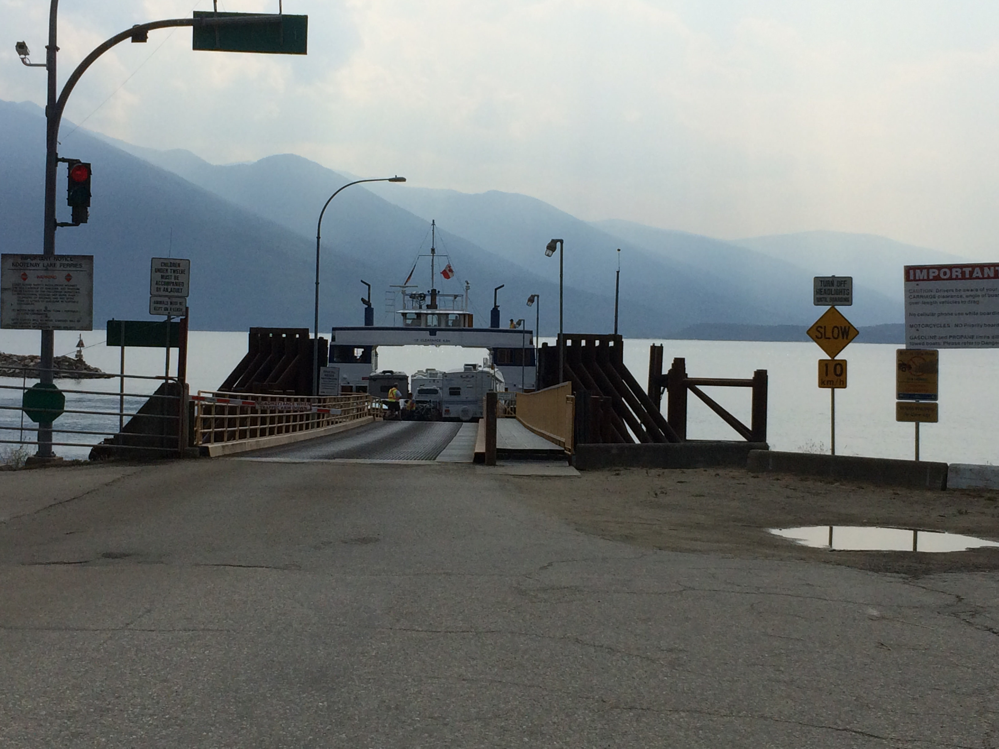 Kootenay Bay ferry