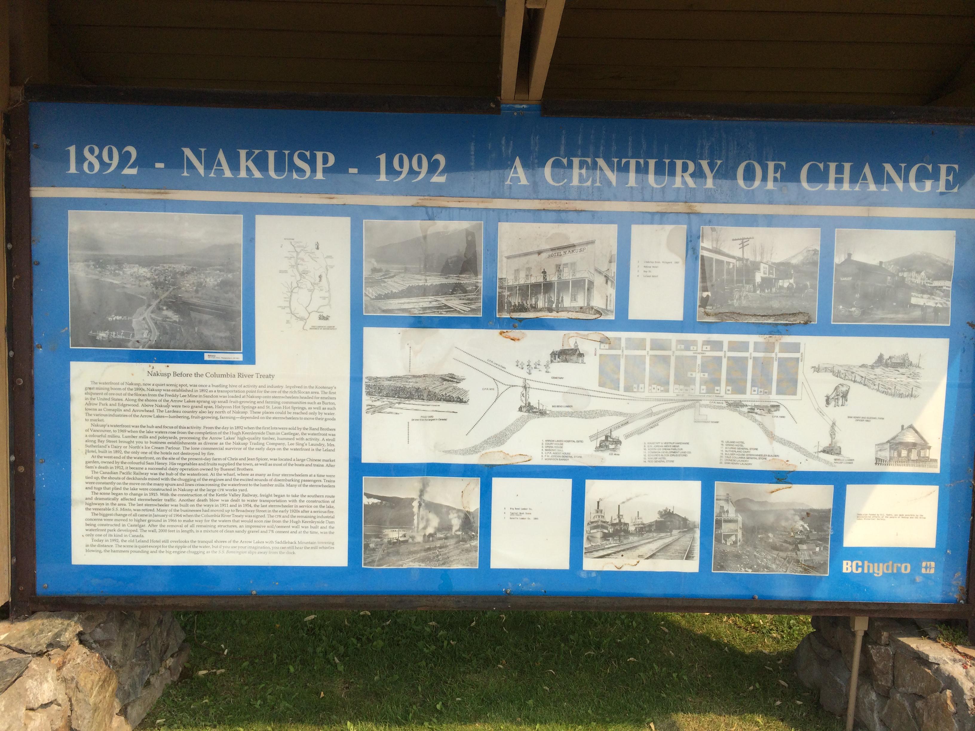 Nakusp waterfront