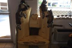 Racoon chair