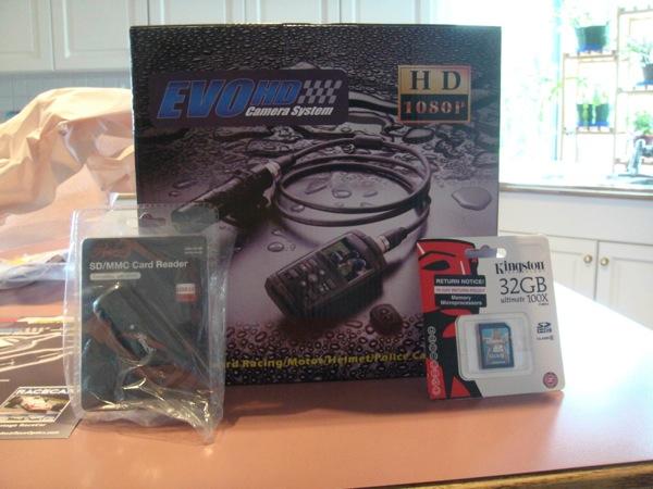 The EVO-HD packaging